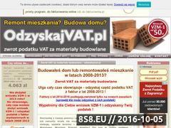 Miniaturka domeny www.odzyskajvat.pl