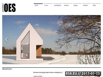 Zrzut strony Architektura oraz aranżacja wnętrz