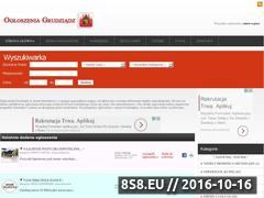 Miniaturka domeny www.oferty-grudziadz.pl