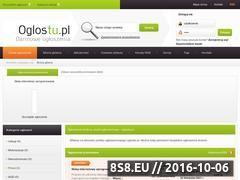 Miniaturka domeny www.oglostu.pl