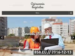 Miniaturka domeny ogloszenia-bezplatne.pl