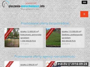 Zrzut strony Ogloszenia-Nieruchomosci.info