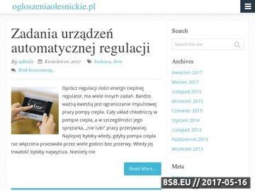Zrzut strony Mega darmowe ogłoszenia Oleśnica