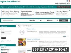 Miniaturka domeny ogloszeniaplock.net