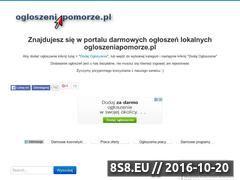 Miniaturka domeny ogloszeniapomorze.pl