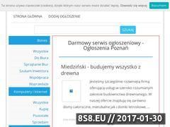 Miniaturka domeny www.ogloszeniapoznan.com