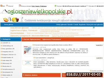 Zrzut strony Darmowe ogłoszenia wielkopolskie drobne poznań Serwis ogłoszeniowy