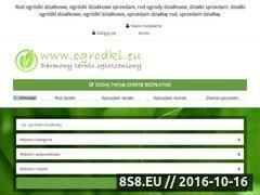 Miniaturka domeny www.ogrodki.eu