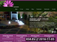 Miniaturka domeny ogrodylodz.com.pl