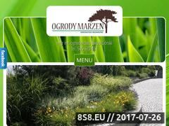 Miniaturka domeny www.ogrodymarzen.net