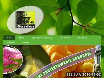 Zrzut strony Garden - projektowanie ogrodów