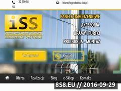 Miniaturka domeny www.ogrodzenia-iss.pl