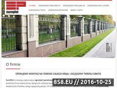 Miniaturka domeny ogrodzenia-panelowe.europlot.pl