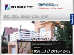 Miniaturka domeny www.ogrodzenia.piotrsycz.pl