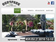 Miniaturka domeny www.ogropark.pl