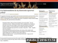 Miniaturka domeny ogrzewanie-kominkowe.pl