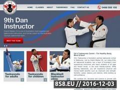 Thumbnail of Taekwondo School in Melbourne Website