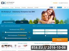 Miniaturka domeny ok-kredyt.pl