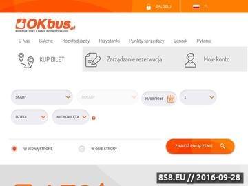 Zrzut strony Niskie ceny biletów za dojazd busem do Warszawy