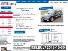 Miniaturka domeny www.okecie-parking.pl