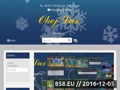 Miniaturka domeny www.okej.com.pl