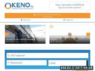 Zrzut strony Ogłoszenia samochody osobowe - OKENO.PL