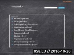 Miniaturka domeny okeytravel.pl