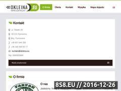 Miniaturka domeny okleina.eu