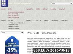 Miniaturka domeny www.okna-magda.pl