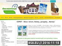 Miniaturka domeny okna-mazowsze.pl