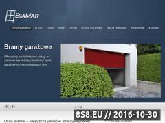 Miniaturka domeny oknabiamar.pl