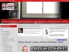Miniaturka domeny www.oknadrzwiprofesor.pl