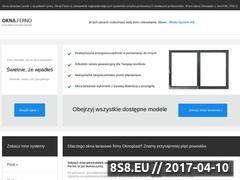 Miniaturka domeny www.oknaferno.pl