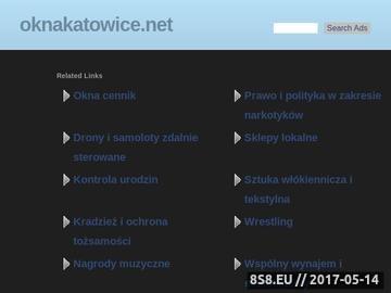 Zrzut strony Okna Katowice