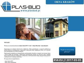 Zrzut strony Okna Kraków
