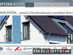 Miniaturka domeny oknaoptimus.eu