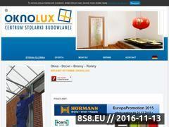 Miniaturka domeny www.oknolux.com.pl