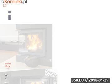 Zrzut strony Kominki, piece oraz wkłady kominkowe