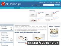 Miniaturka domeny www.okularnia.pl
