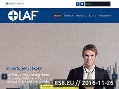 Miniaturka domeny www.olaf.pl