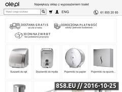 Miniaturka domeny www.ole.pl