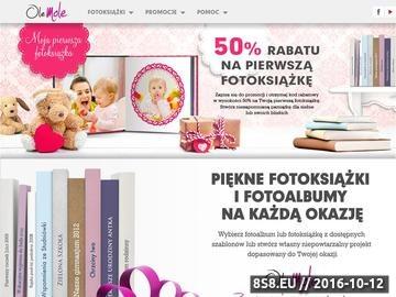 Zrzut strony Fotoksiążka