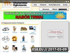 Miniaturka domeny www.olsztynskie-ogloszenia.pl