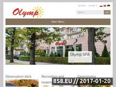Miniaturka domeny www.olympspa.pl