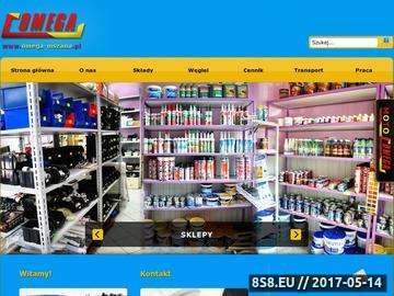 Zrzut strony OMEGA działalność handlowo usługowa