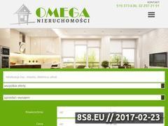 Miniaturka domeny omeganieruchomosci.pl