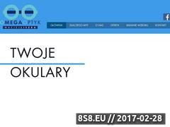 Miniaturka domeny www.omegaoptyk.com.pl