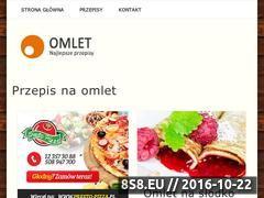 Miniaturka domeny omlet-przepis.pl