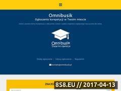 Miniaturka domeny omnibusik.pl