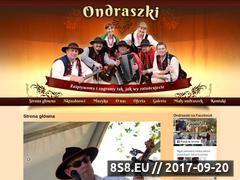 Miniaturka domeny www.ondraszki.eu
